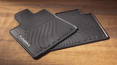 Tundra All Weather Mats 4PC Black - Toyota (PT908-34121-20)