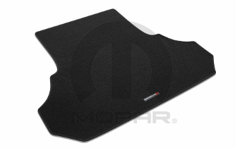 Cargo Mat, Carpet, Dodge Logo