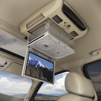 Overhead Portable DVD Player (Requires Docking Station Package)
