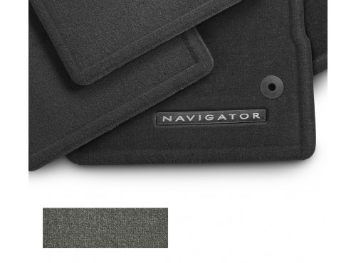 Floor Mats, Carpeted, 4-Piece