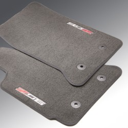 Front Premium Carpet with Z06 Logo, Galvanized - GM (23476291)