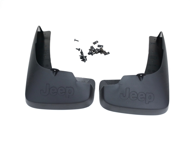 Splash Guards - Deluxe - Front Black