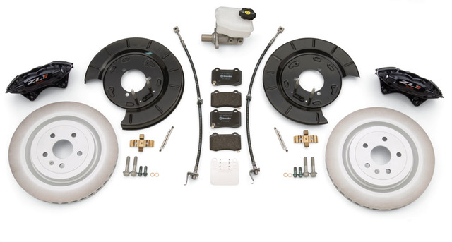 Gen 5 Camaro V-6 To ZL1 Brake Conversion Kit (Complete Front & Rear Kit) - GM (22989384)