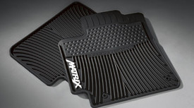 2PC All Weather Mats Black MTRX4
