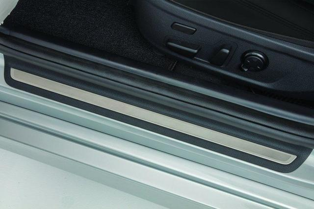 Alloy Door Sill Plates, Black