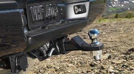 Tow Hitch Receiver Ball Mount
