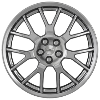 "21"" Wheel, Front, Silver"