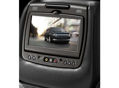 DVD System, Cloth Headrest
