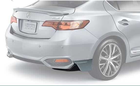 Under-body Spoiler-Rear - Bellanova White Pearl