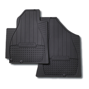 Floor Mats, All Weather Second Row