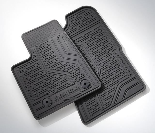 Floor Mats, All Weather, Front Set