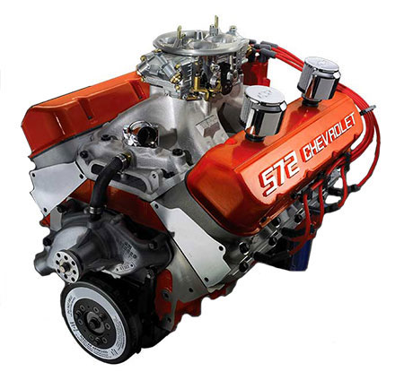 Chevrolet Performance ZZ572/720R Deluxe Crate Engine - GM (19201334)