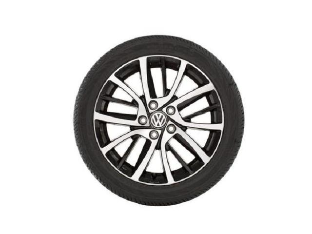 17 Inch Blade Wheel - Black And Silver - Volkswagen (5G0-071-497-FZZ)