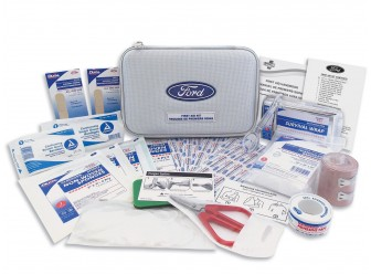 First Aid Kit W/Ford Logo
