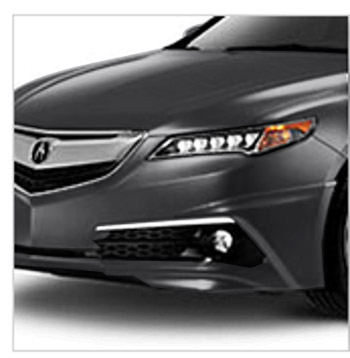 2015 2016 Acura Tlx Sedan Front Under Body Spoiler 08f01