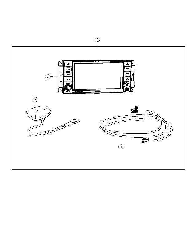 navigation kit - harness  wiring