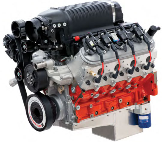 Copo 350 Supercharged Crate Engine