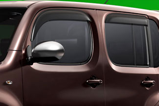 Air Deflectors, Side Windows, Rear