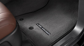 Landcruiser Floor Mats Black