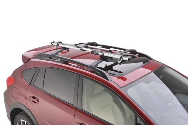 Bike Carrier-Roof [ Crossbars Required ] Clamps Included - Subaru (SOA567B020)