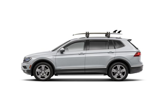 Thule Surfboard/Sup Carrier Attachment - Volkswagen (000-071-120-A-DSP)