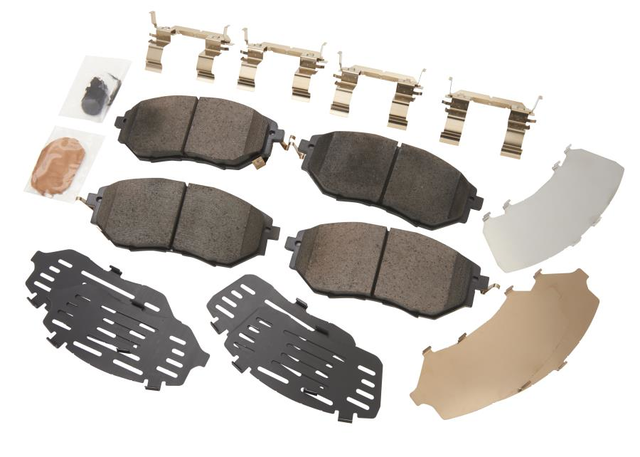 Rotors Ceramic Pads F+R OE Replacement 2013 Fits Subaru Outback 3.6L