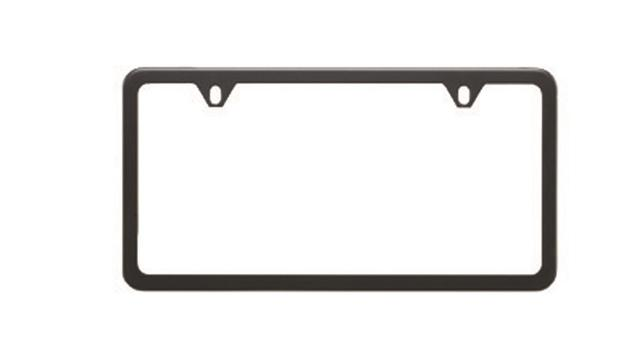 License Plate Frame Slim / Matte Black - Subaru (SOA342L105)