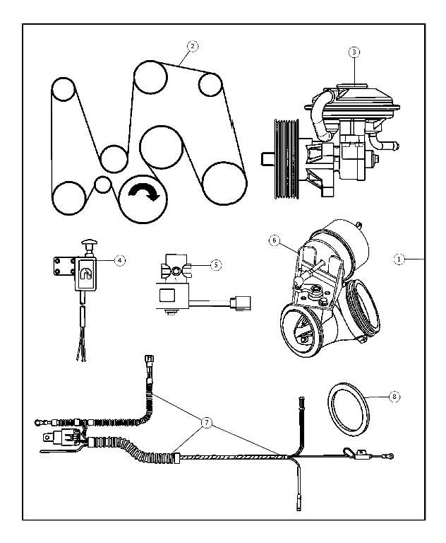 Diesel Exhaust Brake Kit - Belt