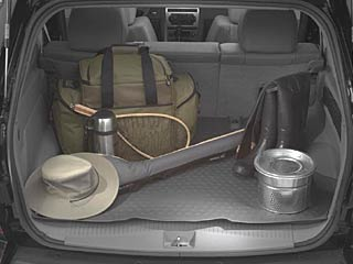 Cargo Area Tray - Molded - Slate Gray - Mopar (82209052)