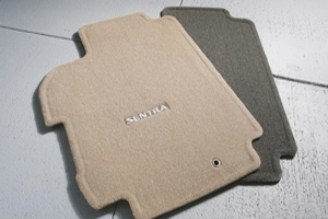 Floor Mats, Carpet - Nissan (999E2-LW020BE)