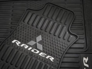 Floor Mats, All Weather - Mitsubishi (ANM06XRB02)
