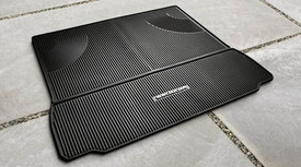 Sequoia 2PC Cargo Black All Weather Mats
