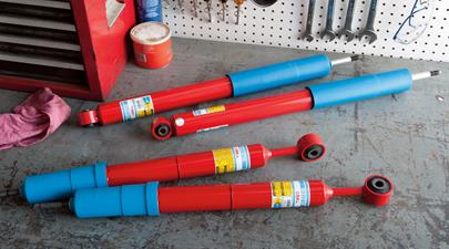 Trd Performance Shocks - Rear
