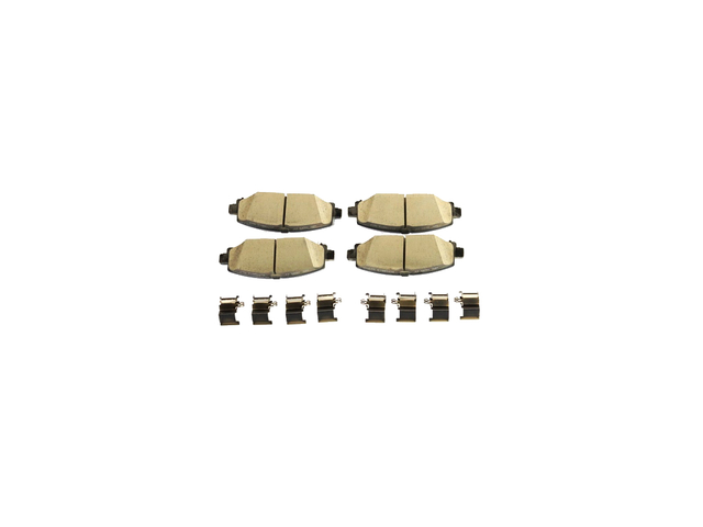 Rear Disc Brake Pad Kit - Mopar (68386838AB)