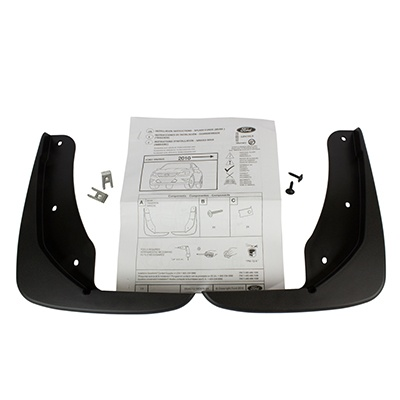 Splash Guards, Rear Set - Ford (AG1Z-16A550-BA)