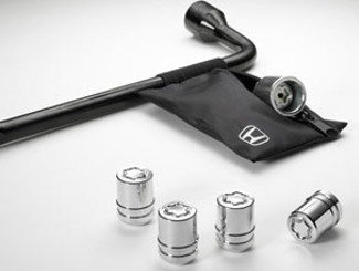 Wheel Locks - Honda (08W42-TK4-100)