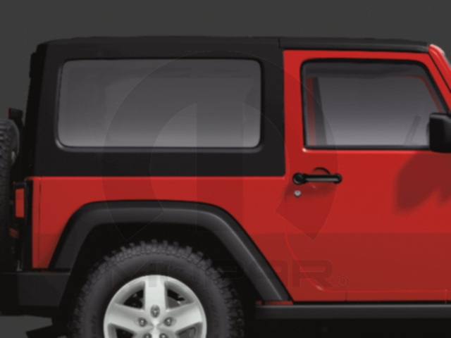 WRANGLER 3 PIECE FREEDOM TOP TEXTURED BLACK  UNLIMITED JK 4 DOOR - MOPAR