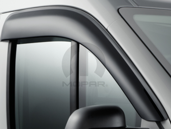 Air Deflector, Side Window, Tinted - Mopar (82214034AB)