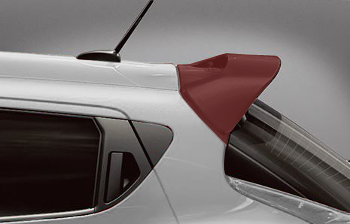 Spoiler, Rear Roof, Color Studio