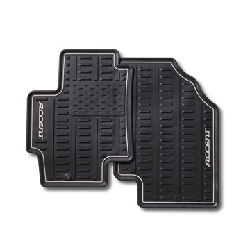 Floor Mats, Rear Set All Weather