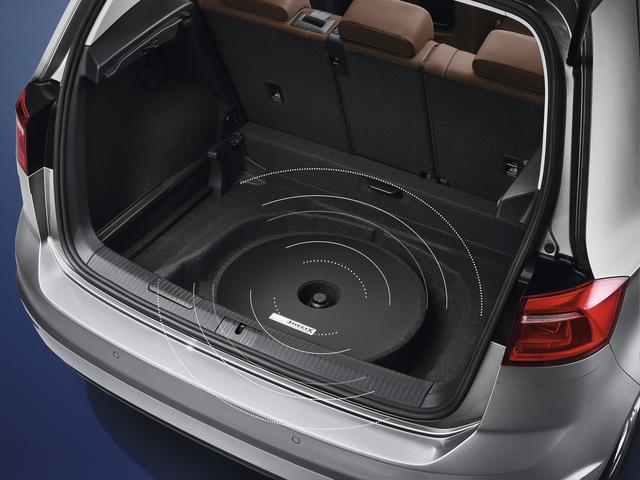 Spare Tire Mount Sub-Woofer / Sound Box - Volkswagen (000-051-419-B)
