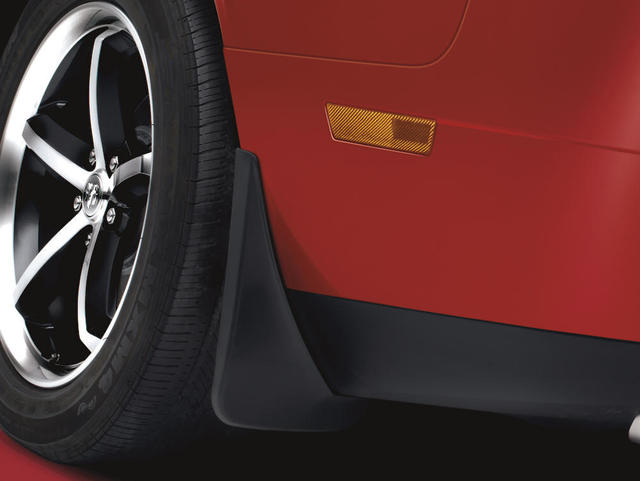 Splash Guards, Molded, Rear - Mopar (82211684AD)