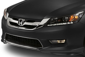 Under-body Spoiler - Sedan - Front-Crystal Black Pearl