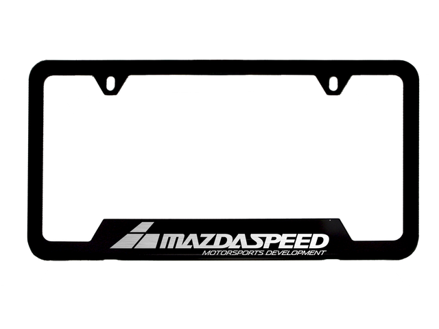 License Plate Frame, Mazdaspeed Logo