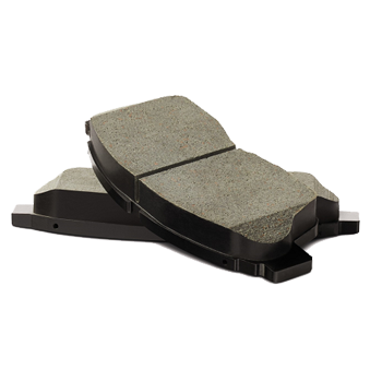 Rear Genuine Toyota Ceramic Brake Pad Set - Toyota (04466-AZ105)