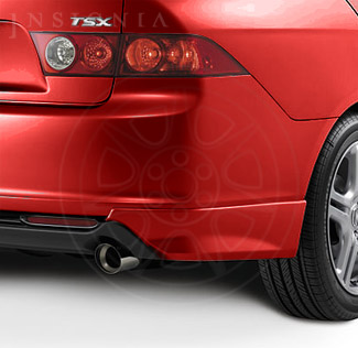 Under-Body Spoiler - Rear Milano Red