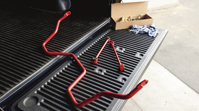 2007-2020 Toyota Tundra TRD Rear Sway Bar Powder Coated PTR11-34070 OEM - Toyota (PTR11-34070)