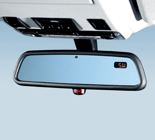 Rear-View Mirror With Compass And Universal - BMW (51-16-9-192-335)