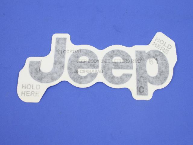 Decal Chrysler Genuine 55157106AA