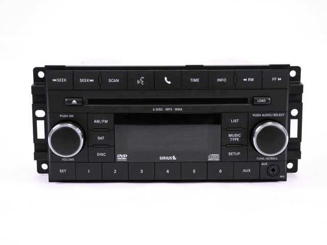 AM/FM 6-Disc CD/DVD Player (Req) - Mopar (5064948AH)